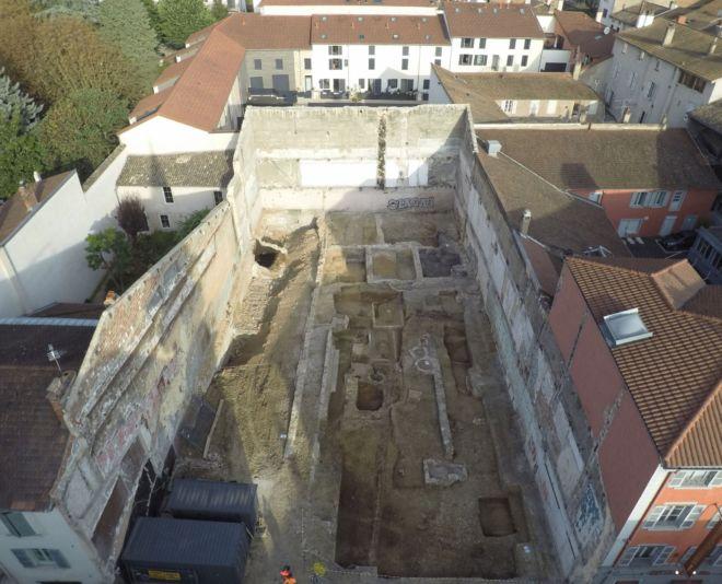 drone archéologie