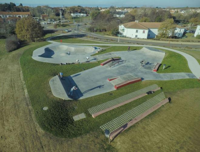 Skate park du Château d'Olonne