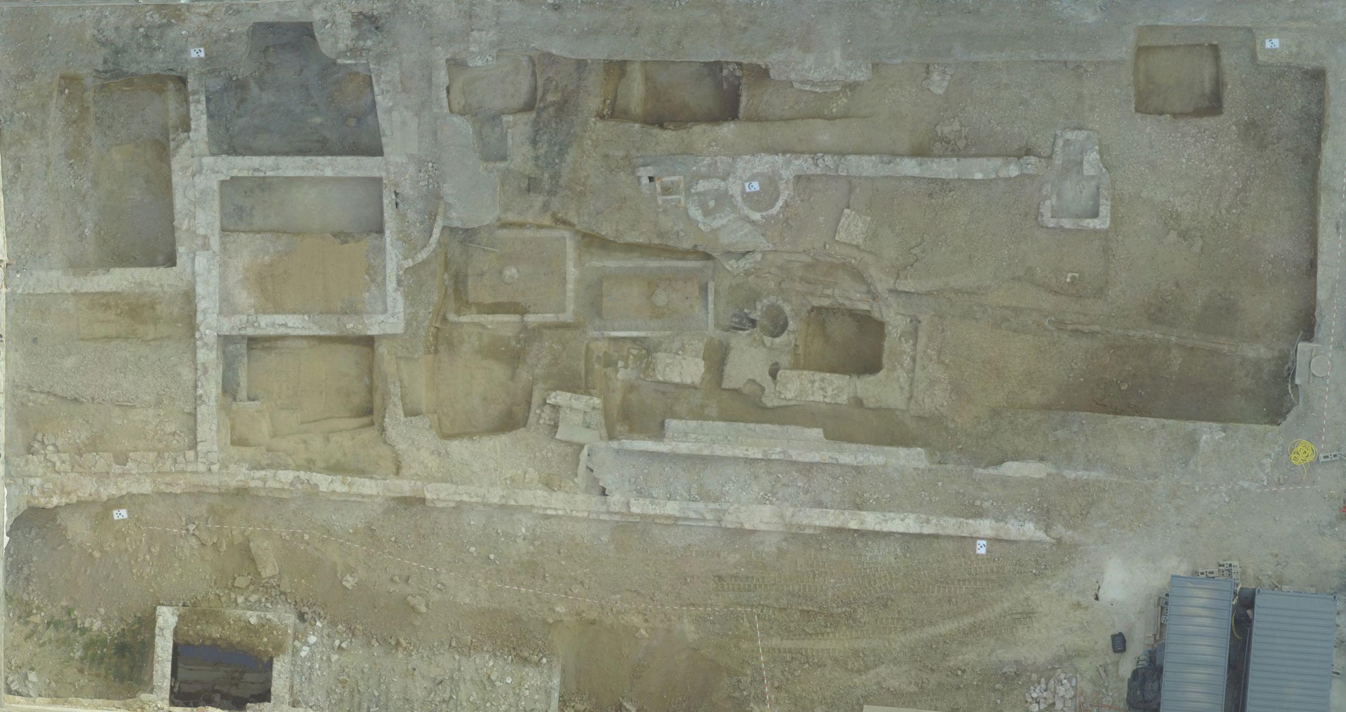 Orthophoto archeologie urbaine