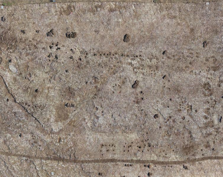 Poiré-sur-Velluire – orthophoto drone au service de l'archéologie
