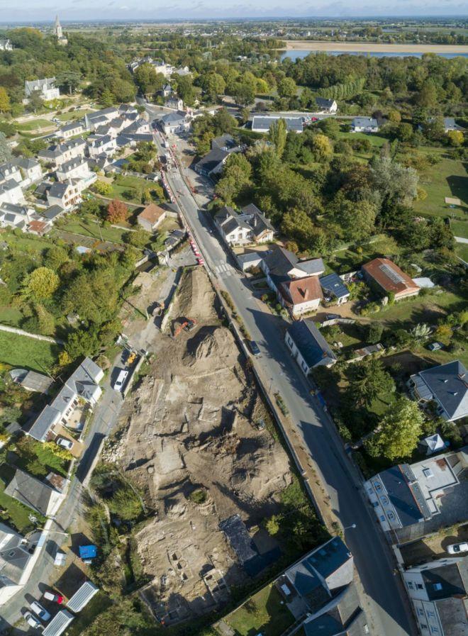 vue drone Loire